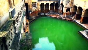 Roman Baths by JoyousWriter