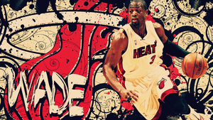 Dwyane Wade Wallpaper by lucasitodesign