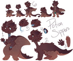 [Potion Sippers] Species Guide by Fumi-LEX
