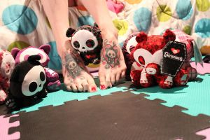 Mini Skelanimals by CupCakeMonsterCrafts