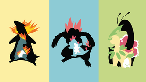 Johto-Starter-Chain by Oldhat104