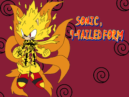 Sonic, Mastered 9-Tailed Form by Tails19950