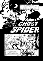 Revenge of the Ghost Spider p1 by kelipipo