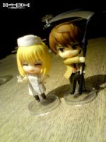 DN: Misa and Raito Yagami 4 by ILICarrieDoll