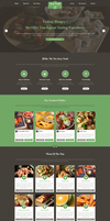 Sexy Food - Food Restaurant Template by begha