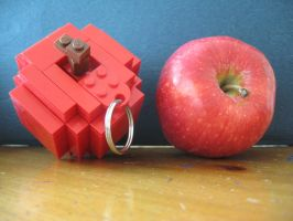 LEGO APPLE by redhatpieman