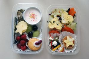 Second Bento by DoodleBe