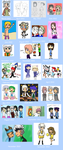 Evolution of my Art from 2012 to 2013 by May-Usagi