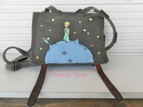 The Little Prince inspired Bag by DesignByWendy