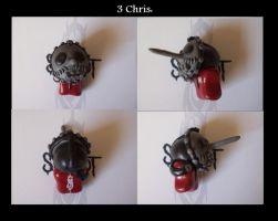 chris slipknot chibi 1st by slipkrich