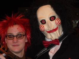 Me and Jigsaw by emopuppy07