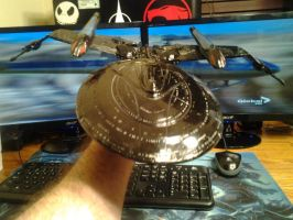enterprise phantom ver.2 paint job top orbit angle by Aseika