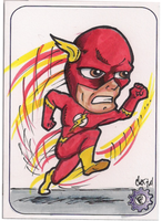 Flash chibi style PSC by chrisfurguson