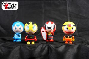 Mega Man Bobble Budds On Sale Now! by BobbleBudds