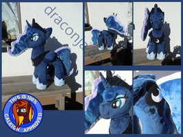 Princess Luna Plush by Caleighs-World