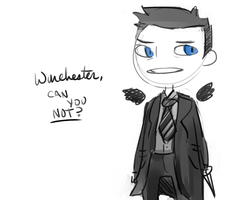 Winchester, can you not? by Sushi-Arts