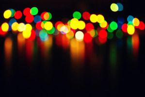 Christmas candles by SizkaS