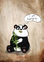 I am hungry by cinges