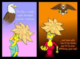 Mother Eagle by Nevuela