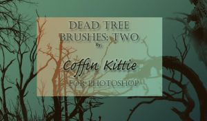 Dead Tree Brushes: Two by coffinkittie