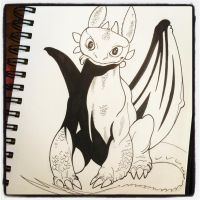 WIP Toothless by BigDogsStudio
