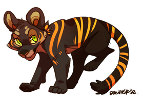 Kougra wry by Aledles
