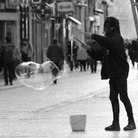 street bubbling by m-lucia