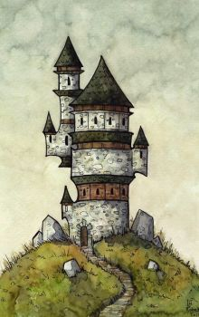 Wizard Tower by CorinneRoberts