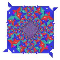 Fish Tessellation Colored by Patches614