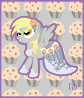 Derpy, Gala Dress by RachelAV