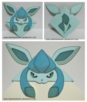 Glaceon by LilDevilMomoko