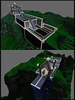 Mincraft creation by Mackingster