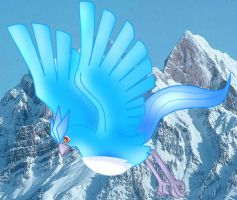 Flying Articuno 2 by Articuno