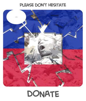 Don't Hesitate and Donate by amusedom