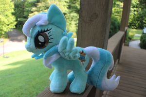 OC small mare plush by Emberfall0507