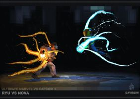 MINI Ryu VS Nova - Turntable by davislim