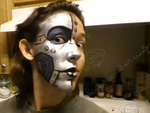 Fanbot makeup! (1/4) by Emmi-Kat