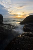 Ko Tao Sunset by drewhoshkiw