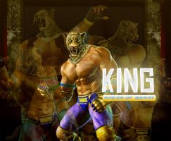 King The 2nd Wallapper TEKKEN by ABDIANO