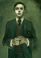 Tom Riddle Thingy by hamster-nemesis