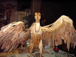 Vulture: Work in Progress by Thomas-Carvings