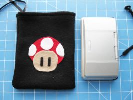 DS Carrying Case - Mushroom 3 by PaperCadence