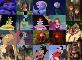 Disney Young to Old in Movies Part 4 by dramamasks22