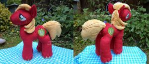 Big Mac Plushie  (Part 2) by sockmuffin-studios