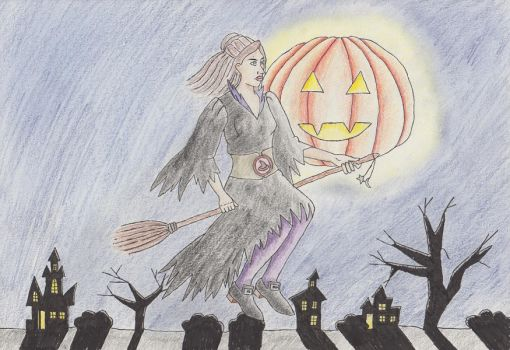 A witchy Halloween by emptydrawers