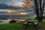 Park Bench on the Clyde by KBL3S
