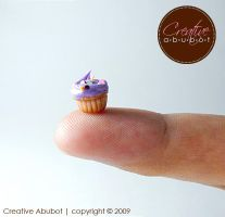 Tiny Purple Cupcake by CreativeAbubot
