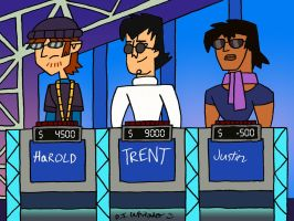 Drama Brothers on Rock and Roll Jeopardy by DJgames