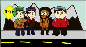 South Park boys by felipesaw