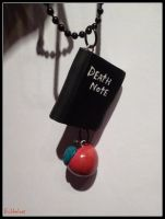Death Note Necklace by Bubbelcat